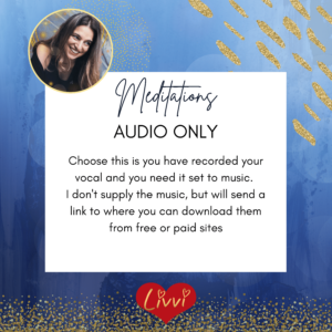 meditation audio editing