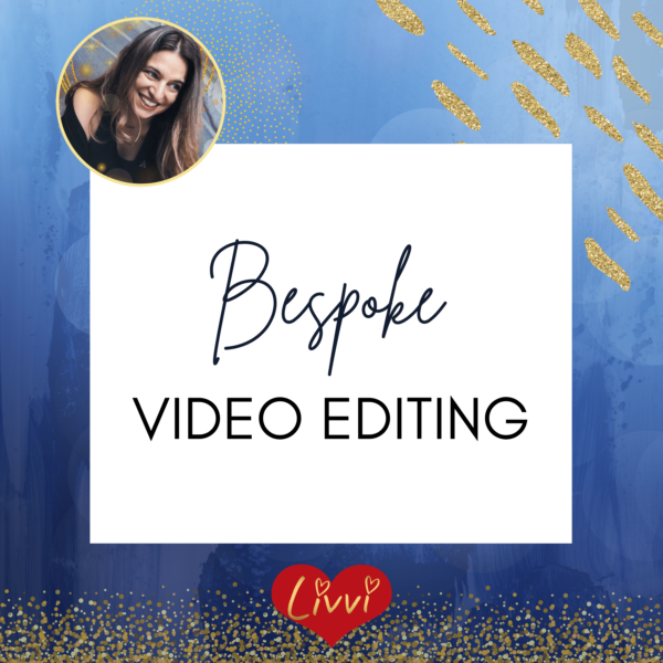 Bespoke video editing services